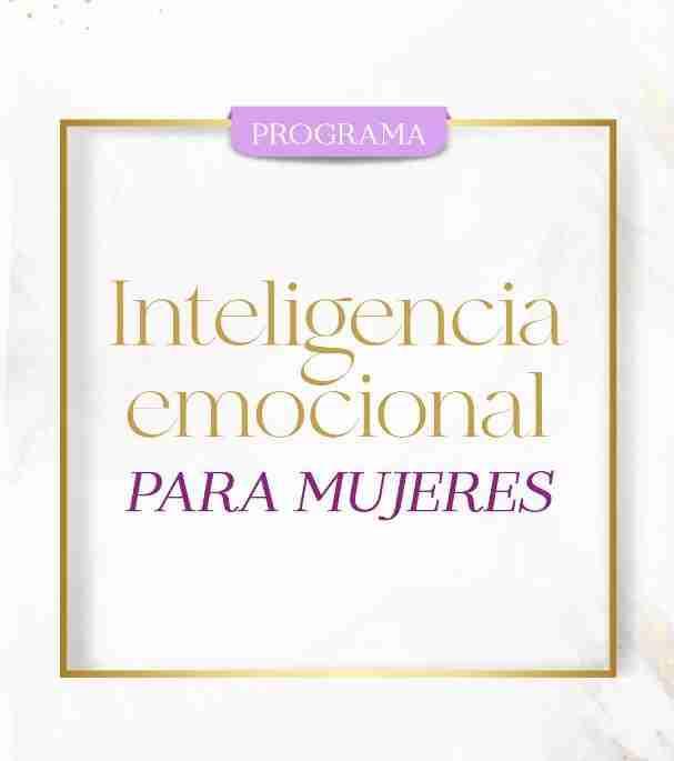 Programa de Inteligencia emocional para mujeres