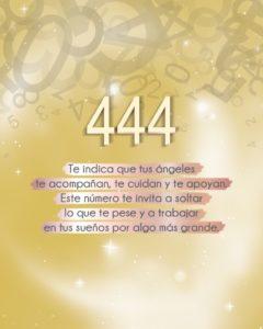 significado del 444