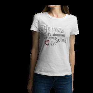 Camiseta para dama - Ho'oponopono Blanco