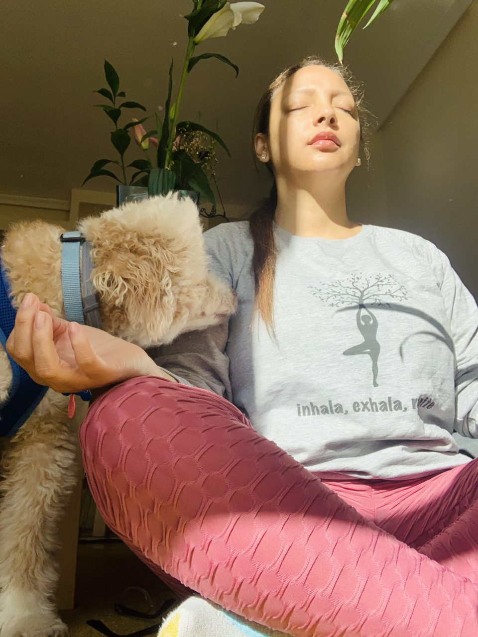 dolores de espalda y meditación