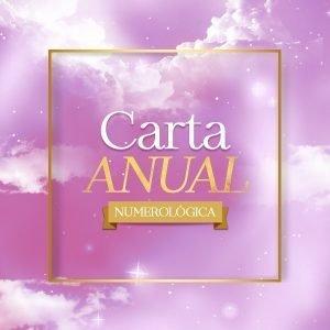 carta anual numerologica