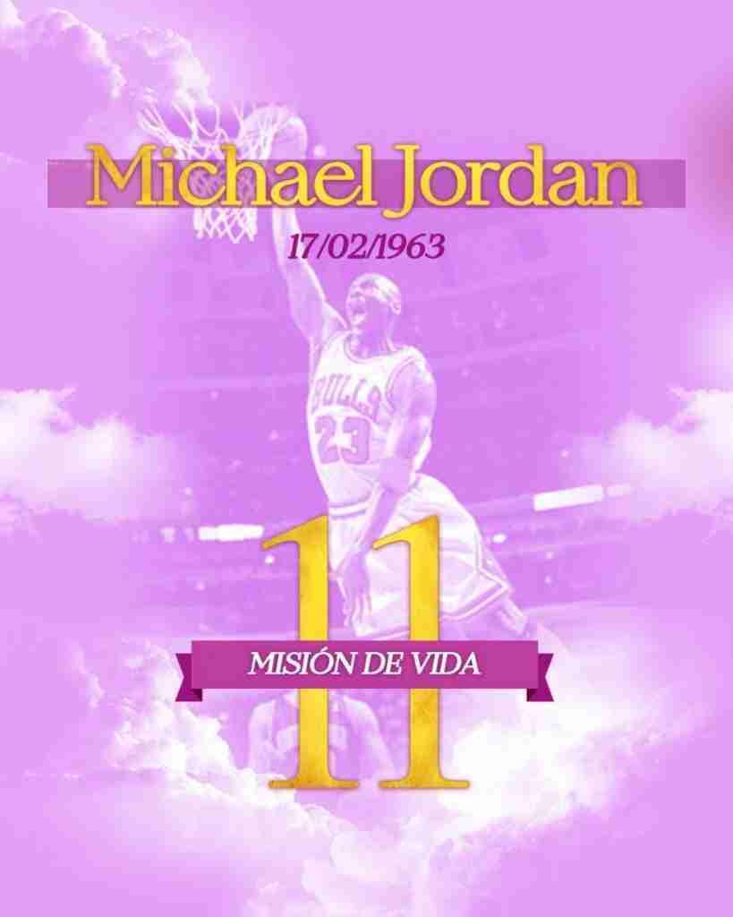 Numerologia Michael Jordan