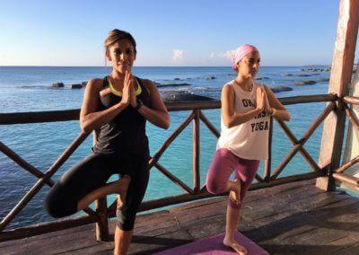 Tiempo de Yoga en la Riviera Maya