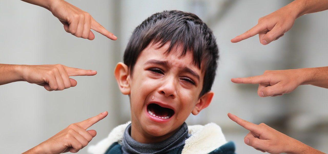 historia de bullying de un niño