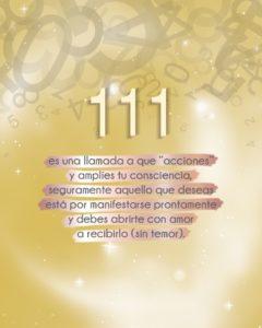 Significado del 111