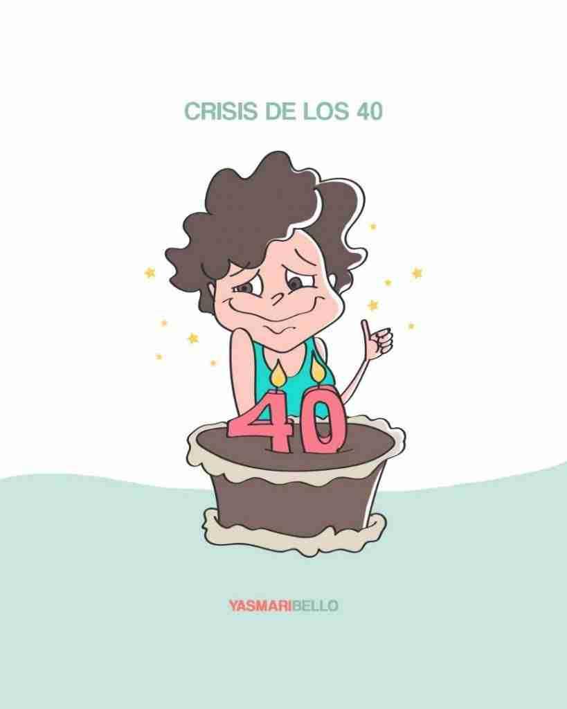 crisis de los 40 en las mujeres