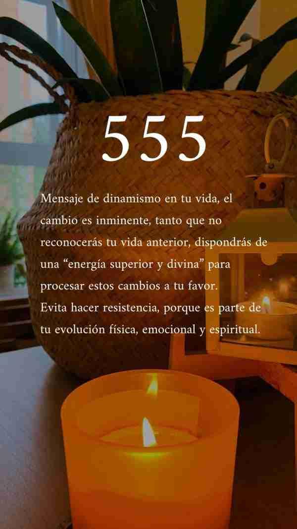 significado 555